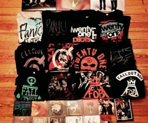 fall out boy, panic at the disco, and FOB image