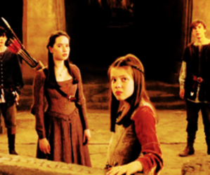 cs lewis, georgie henley, and Lucy image