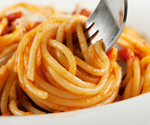 food, hungry, and pasta image