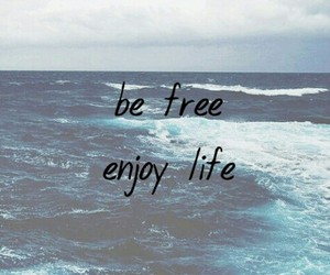 life, free, and quote image