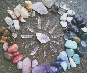 crystal, stone, and grunge image
