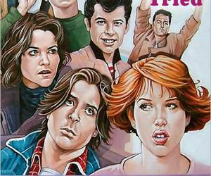 80s, pretty in pink, and Say Anything image