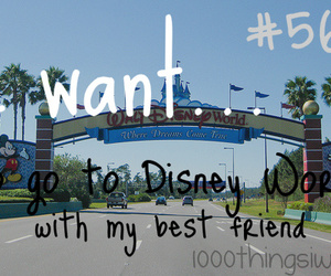 bff, disney, and 1000 things i want image