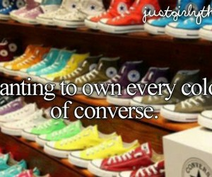 converse, shoes, and text image