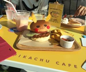 anime, food, and hamburguer image