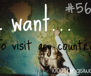 traveling and 1000 things i want image