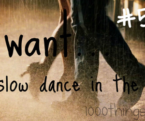 dance, rain, and romantic image