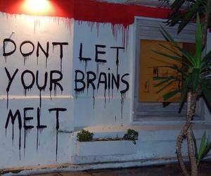 blood, brains, and graffiti image