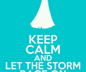 frozen, elsa, and keep calm image