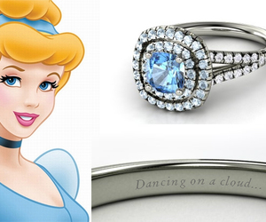 cinderella, ring, and disney image