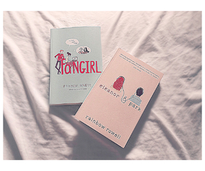 books, rainbow, and fangirl image