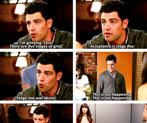 quotes, new girl, and schmece image