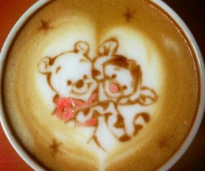 coffee, cute, and disney image
