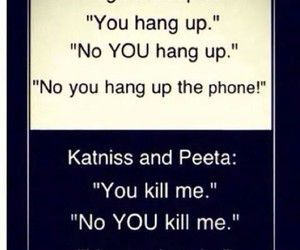 hunger games, funny, and katniss image