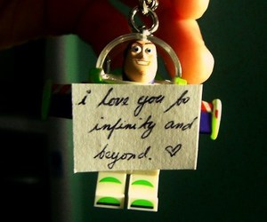 love, toy story, and buzz lightyear image