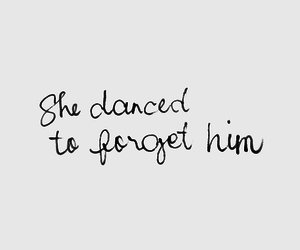 love, dance, and quotes image