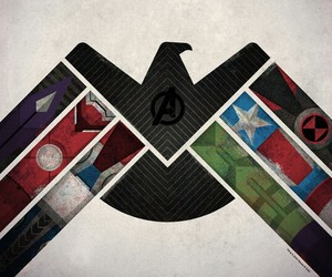 Avengers, iron man, and Hulk image
