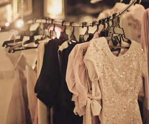 beautiful, clothes, and glitter image