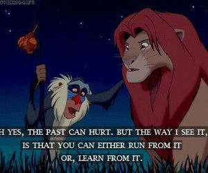 quote, lion king, and disney image