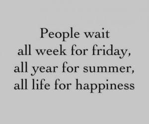 happiness, summer, and quotes image