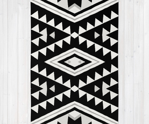 aztec, bag, and black and white image