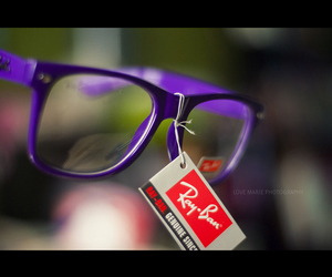 glasses, neon, and purple image