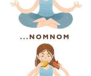 food, funny, and keep calm image