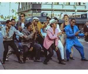 bruno mars, mark ronson, and uptown funk image
