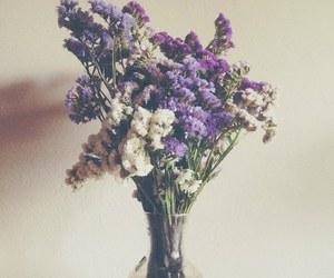 flowers, purple, and indie image