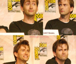 comicon, david tennant, and doctor who image