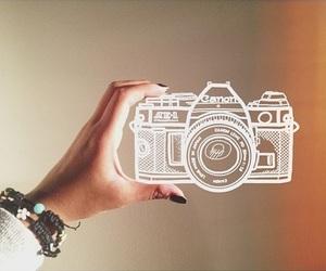 camera, photo, and drawing image