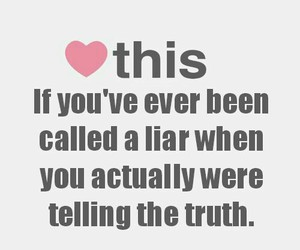 Liars and true image