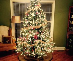 christmas, christmas tree, and facebook image