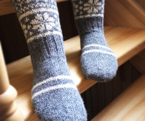 socks, autumn, and cold image