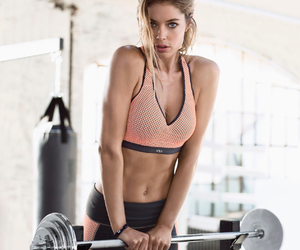 fitness, kickboxing, and victoria secret image
