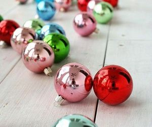 christmas, winter, and ornaments image