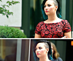 demi lovato, love, and hair image