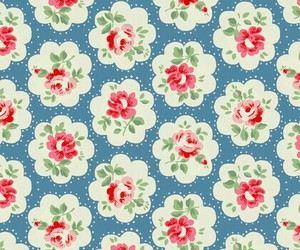 flowers, background, and cath kidston image