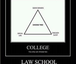 college, Law, and quotes image