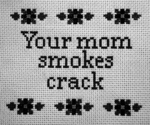 crack, pretty, and drugs image