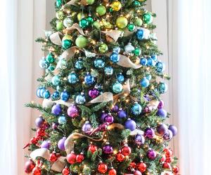 bright, christmas tree, and christmas image