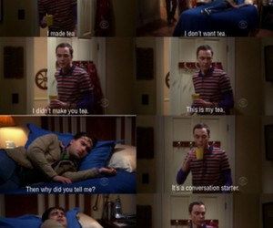 funny, the big bang theory, and sheldon image