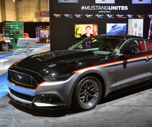 car, ford mustang, and cars image