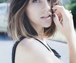 hair, girl, and short hair image