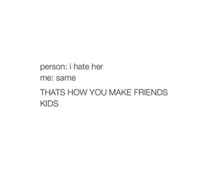 best friends, hate, and same image