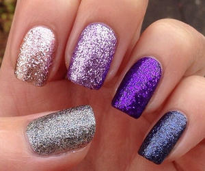 purple., dark., and gold. image