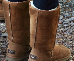 uggs and winter image