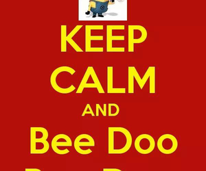 minions and bee doo image
