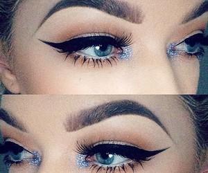 beauty, yas, and Black Eyeliner image