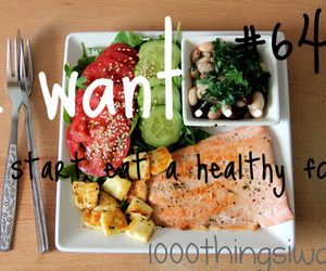 food, healty, and 1000 things i want image